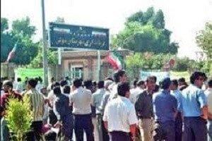 تحصن کارگران بازنشسته هفتتپه