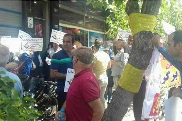 غارت شدگان تجمعات اعتراضی