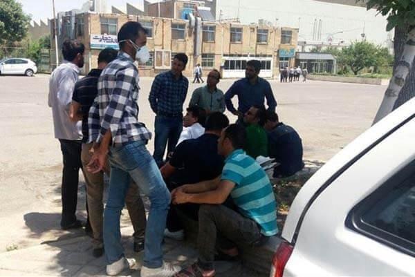 تجمع کارگران آذرآب