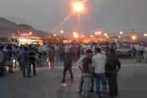 اعتصاب کارگران کنگان