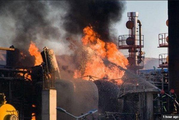 آتشسوزی در پالایشگاه