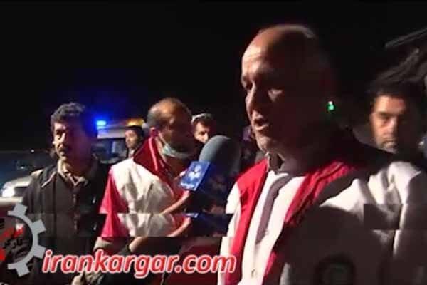 حادثه تصادف اتوبوس مازندران