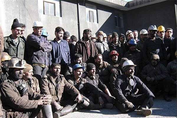 اعتصاب کارگران معدن البرز غربی