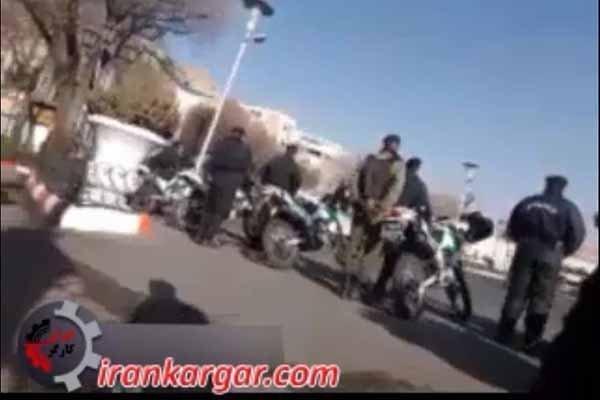 بسیج نیروی انتظامی در تبریز