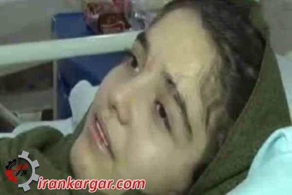 عکس هانیه زلزله زده