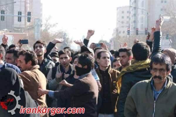 بازداشت مردم در تظاهرات مشهد