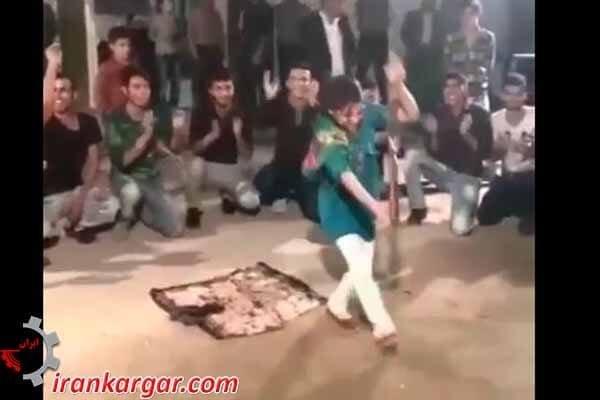 رقص دختر خانم از هرسین کرمانشاه