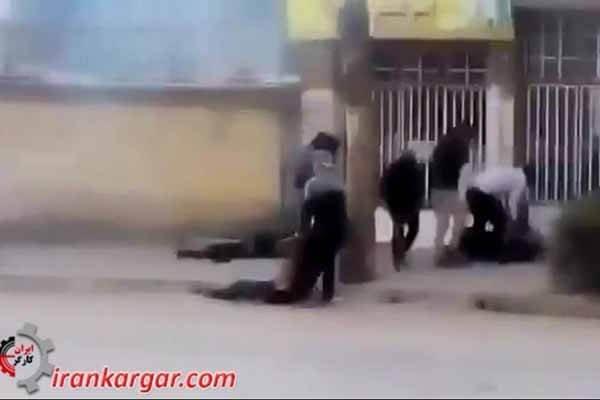 شلیک مستقیم به تظاهرکنندگان