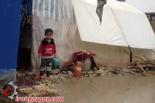 وضعیت زلزلهزدگان
