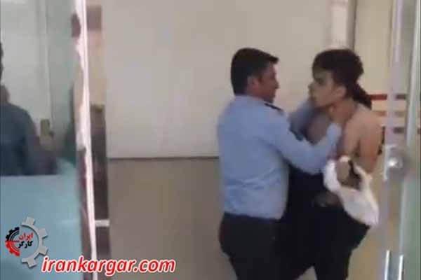 کتک زدن دانشجو