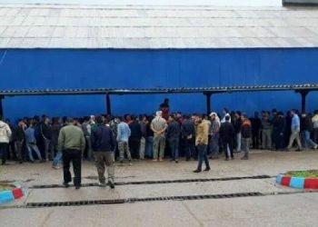 کارگران نیشکر هفتتپه در اعتصاب