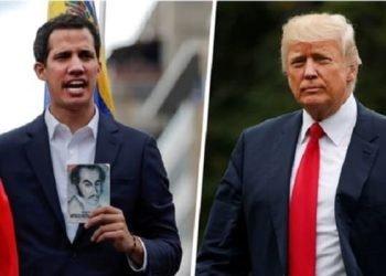 خوان گوایدو رهبر اپوزیسیون ونزوئلا