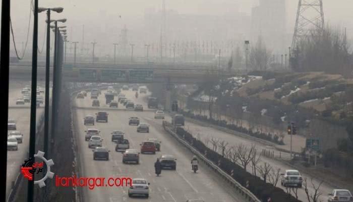 آلودگی هوا در ایران