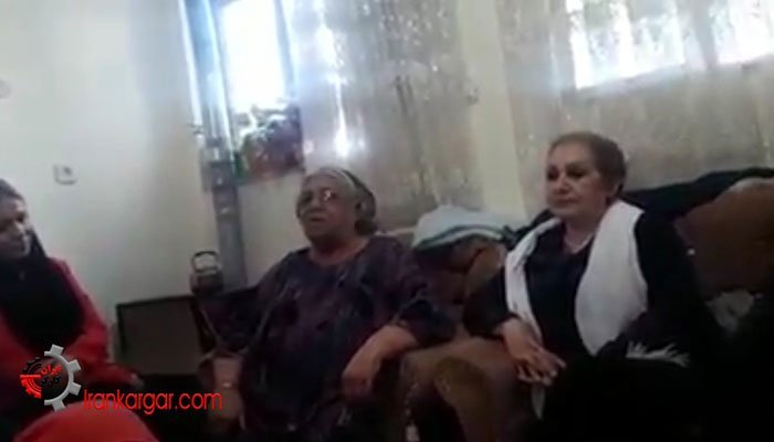 مادر پروین محمدی دردفاع از زندانیان سیاسی