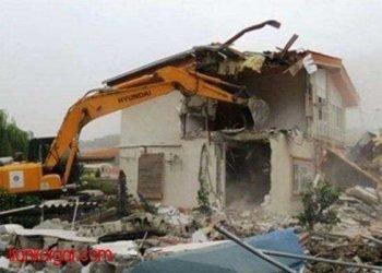تخریب ۲۱ ساختمان شهرداری سنندج