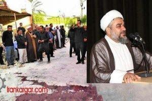 امام جمعه کازرون کشتن
