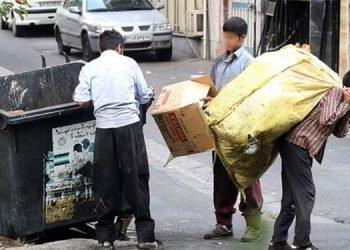 کودکان زبالهگرد نانآور خانوده