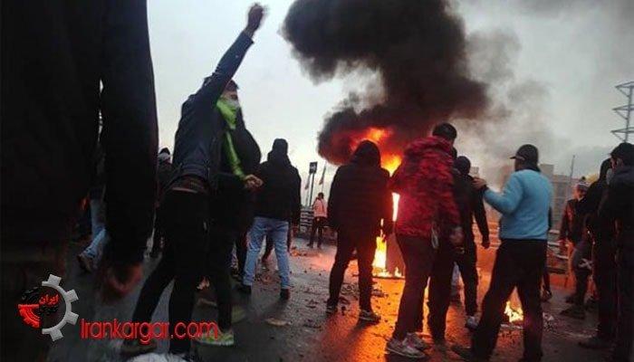 اعتراضات مردم به گرانی بنزین