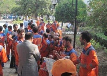 کارگران شهرداری رشت