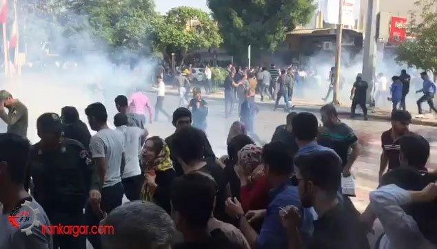 تظاهرات در اعتراض به گرانی بنزین در بوشهر