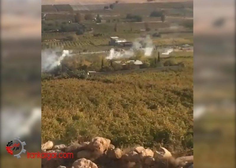 شلیک نیروی انتظامی