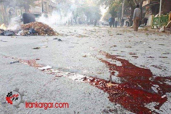 مریوان تظاهرات ایران