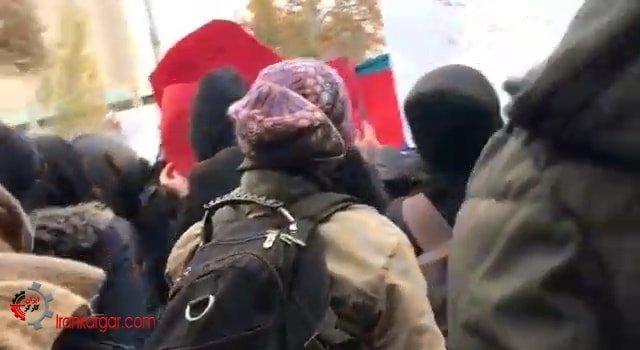 اعتراضات دانشجویان در دانشگاه تهران