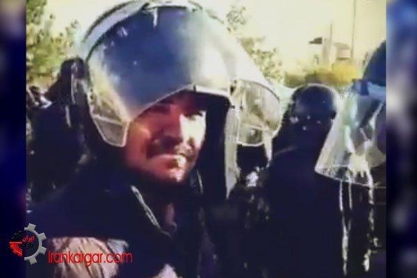 حمله به جوانان تظاهر کننده