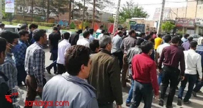 اعتصاب کارگران زغالسنگ کرمان تجمع اعتراضی کارگران معادن زغال سنگ کرمان