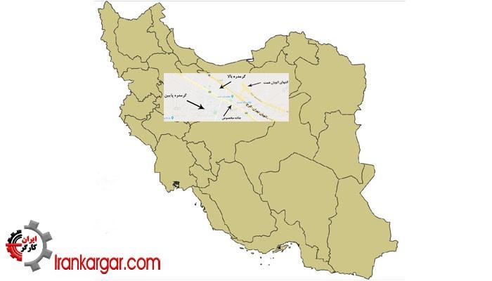انفجار مهیب در غرب تهران در انبارهای موشکی سپاه