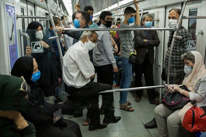 کرونا در استانهای مختلف و تازهترین تصاویر از متروی تهران