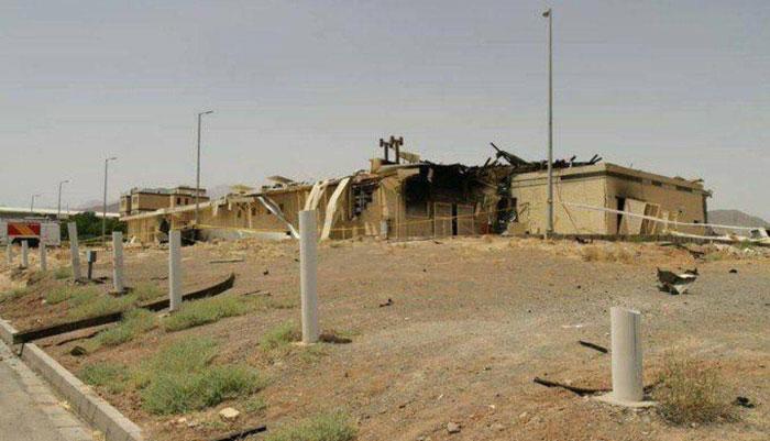 آتش سوزی یا انفجار در سایت نطنز