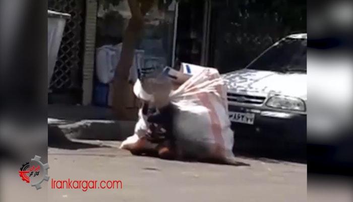 تهران کودک کار