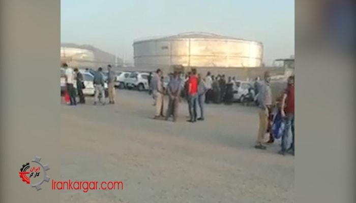 پیوستن پالایشگاه اصفهان به اعتصاب کارگران پالایشگاهها
