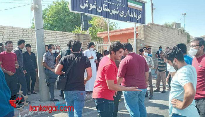 کارگران هفت تپه در پنجاه و هفتمین روز اعتصاب