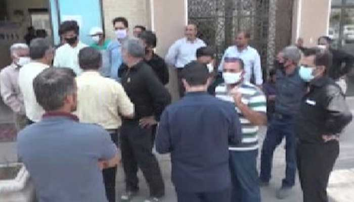 تجمع اعتراضی دامداران یزد