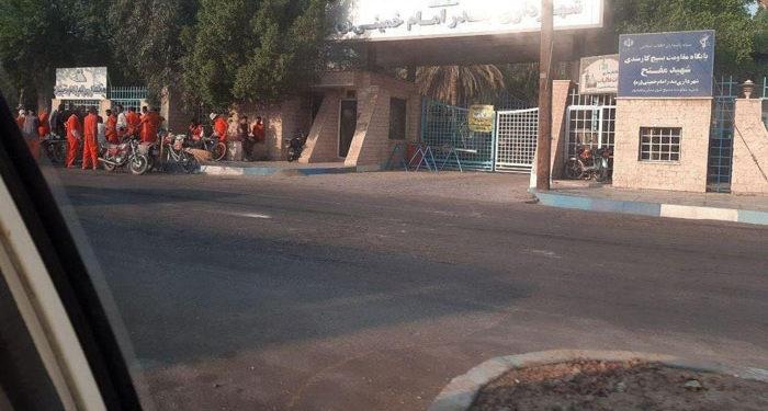 تجمع اعتراضی و اعتصاب کارگران شهرداری سربندر