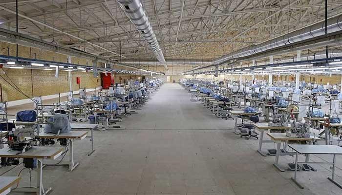 کارخانه نیمه تعطیل سبلان پارچه
