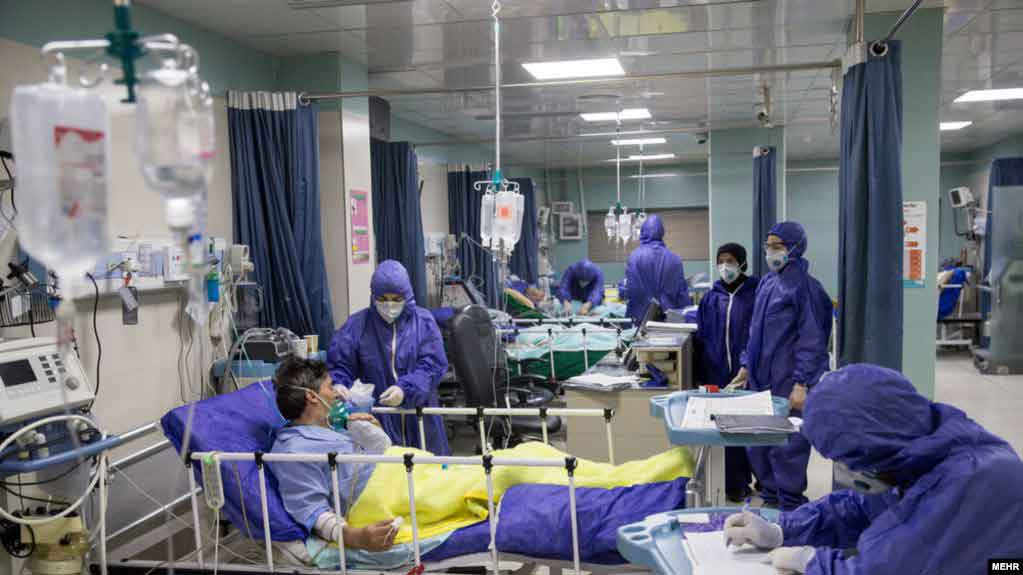 تعداد فوتی های کرونا در ایران نسبت به آمار رسمی