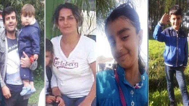 غرق شدن قایق پناهجویان ایرانی ؛ مرگ تمامی یک خانواده ۵نفره