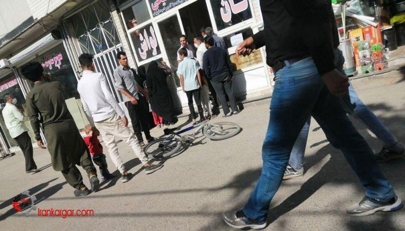 تجمع اعتراضی کارگران نانواییهای یزد
