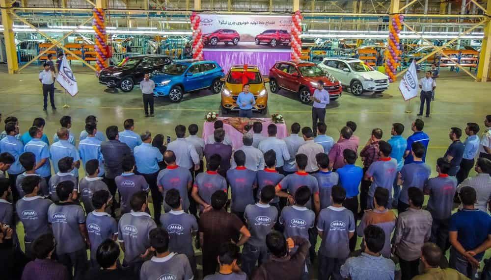 اعتصاب کارگران کارخانه خودروسازی مدیران خودرو