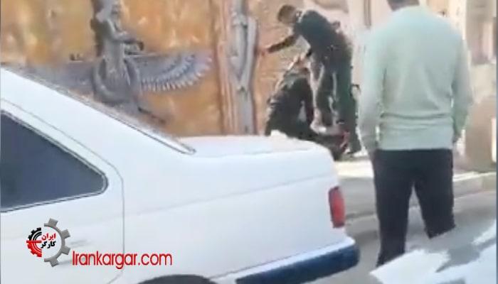 فیلم تکان دهنده شلیک و قتل فجیع یک مرد جوان در خیابان و جلوی چشم مردم در اسفراین