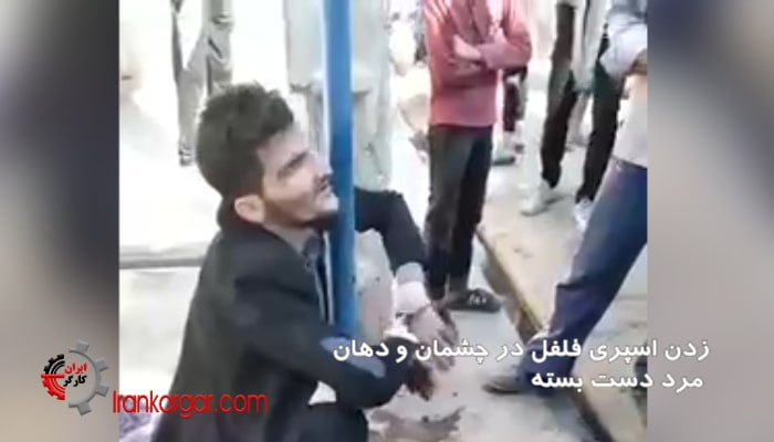 ویدئوی دلخراش آزار دادن و قتل یک مرد