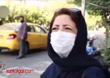 پاسخ صریح زنان تهران به خبرنگاران در خیابانها
