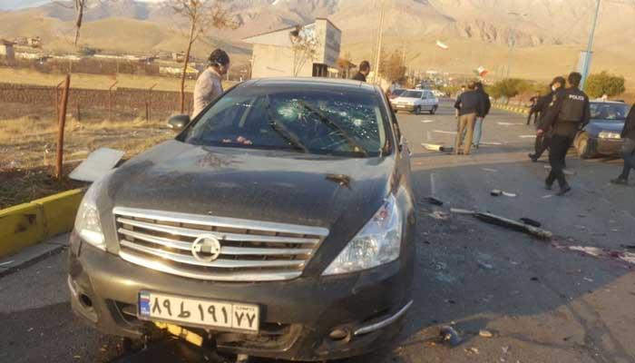 ترور موفق محسن فخری زاده دانشمند هستهای و موشکی ایران در تهران