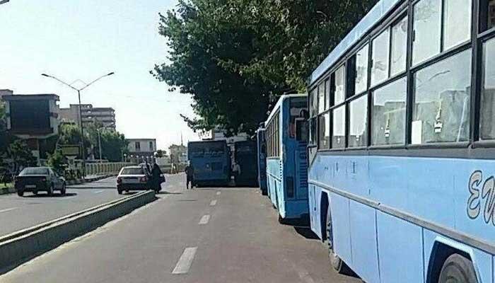 اعتصاب رانندگان اتوبوس شهری ارومیه