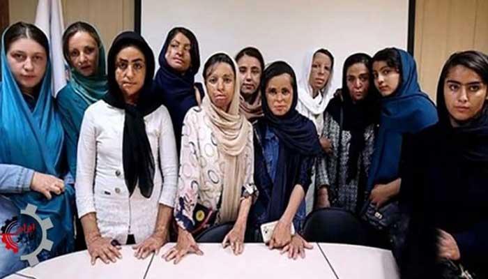 دختران سوخته شین آباد