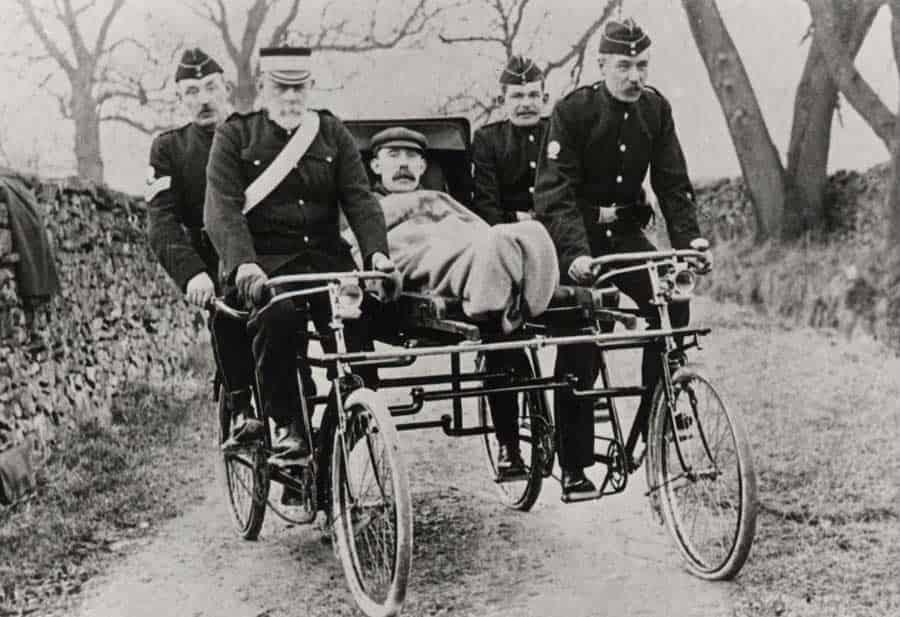 دوچرخه آمبولانس