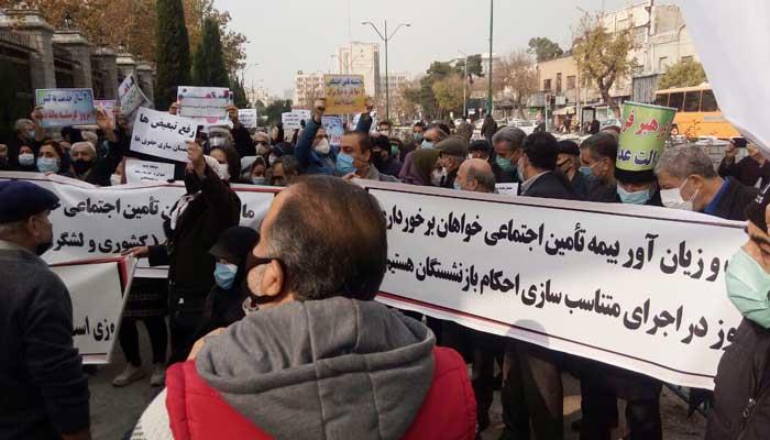 گزارشی از حداقل ۳۱ تجمع اعتراضی در شهرهای مختلف ایران - ایران کارگر